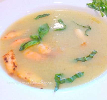 Spargelsuppe II